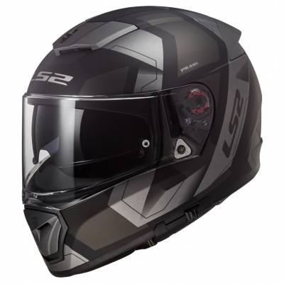 LS2 Helmets Helm Breaker FF390 Physics, schwarz-titan matt