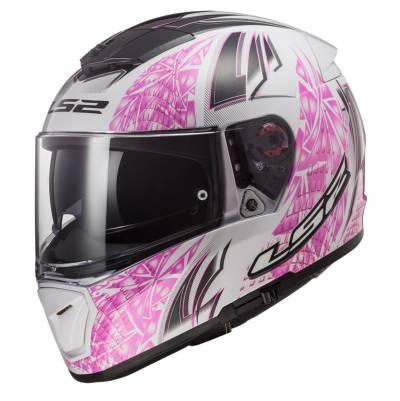 LS2 Helmets Helm Breaker FF390 Rumble, weiß-pink-schwarz