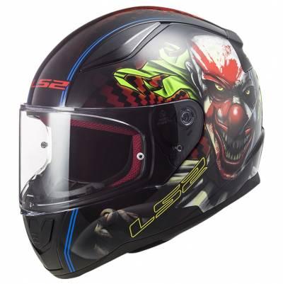 LS2 Helmets Helm Rapid Happy Dreams FF353, schwarz