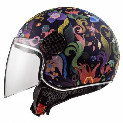 LS2 Helmets Helm Sphere Lux OF558 Bloom, blau-pink
