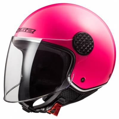 LS2 Helmets Helm Sphere Lux OF558 Solid, fluopink