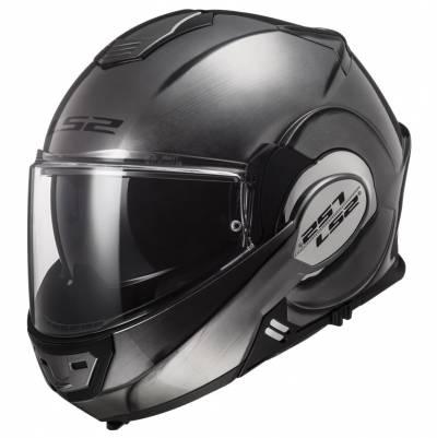 LS2 Helmets Helm Valiant FF399, Jeans titan