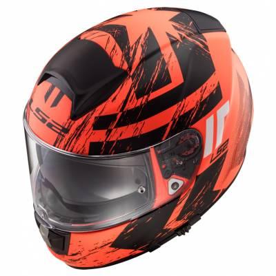 LS2 Helmets Helm Vector HPFC Evo FF397 Hunter, fluoorange-schwarz matt