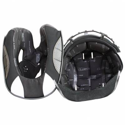 LS2 Helmets Innenfutter Valiant FF399, schwarz