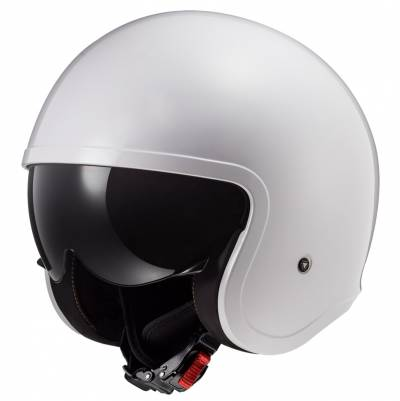 LS2 Helmets Jethelm Spitfire Solid OF599, weiß