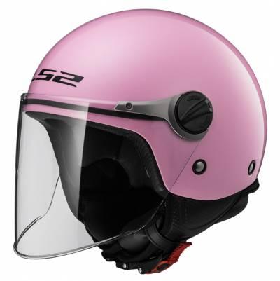 LS2 Helmets Kinder Jethelm Wuby Solid OF575J, pink