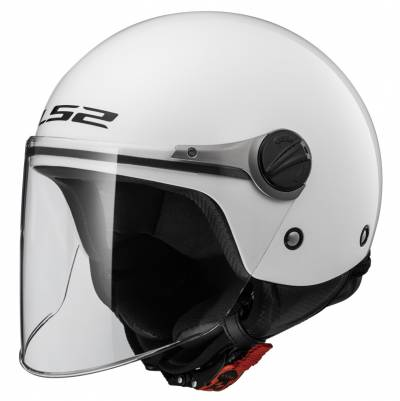 LS2 Helmets Kinder Jethelm Wuby Solid OF575J, weiß