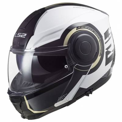 LS2 Helmets Klapphelm Scope Arch FF902, weiß-titan