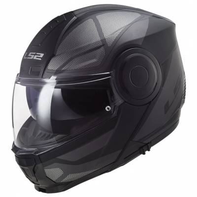 LS2 Helmets Klapphelm Scope Axis FF902, schwarz-titan