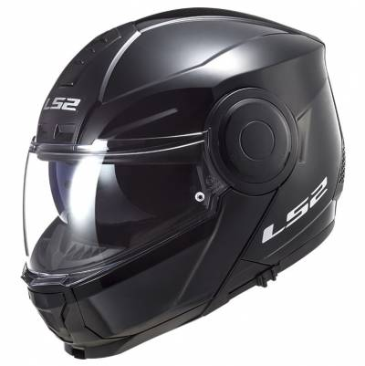 LS2 Helmets Klapphelm Scope Solid FF902, schwarz