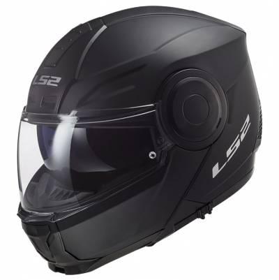 LS2 Helmets Klapphelm Scope Solid FF902, schwarz matt