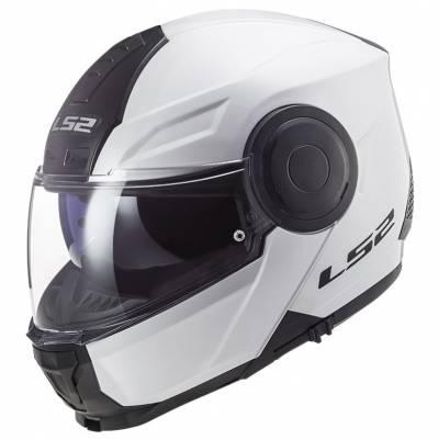 LS2 Helmets Klapphelm Scope Solid FF902, weiß