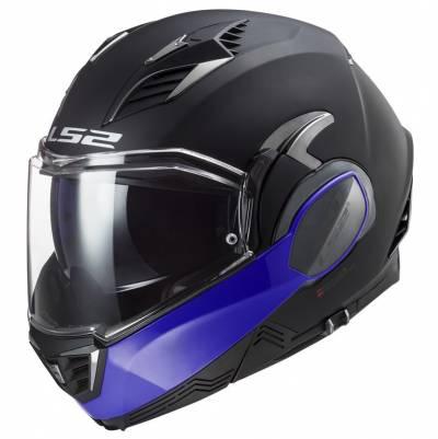 LS2 Helmets Klapphelm Valiant II Hammer FF900, schwarz-blau matt