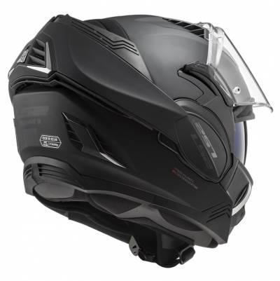 LS2 Helmets Klapphelm Valiant II Noir FF900, schwarz matt