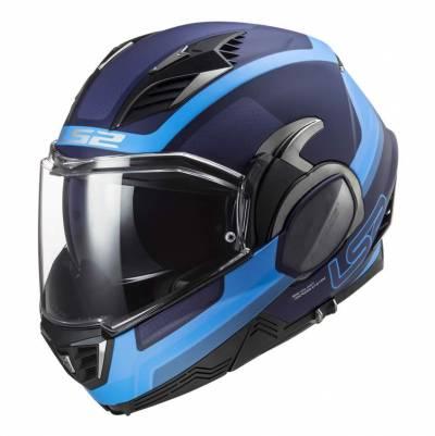 LS2 Helmets Klapphelm Valiant II Orbit FF900, blau matt