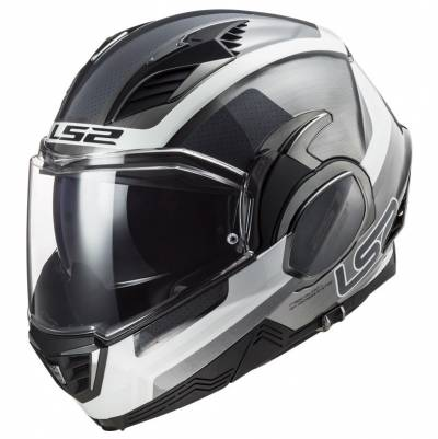 LS2 Helmets Klapphelm Valiant II Orbit FF900, Jeans (titan)