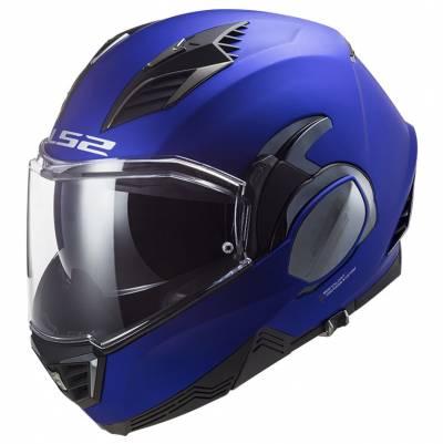 LS2 Helmets Klapphelm Valiant II Solid FF900, blau matt