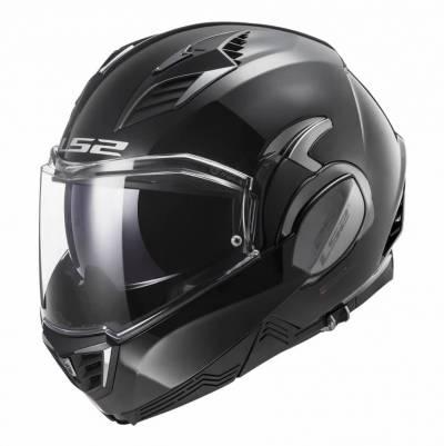 LS2 Helmets Klapphelm Valiant II Solid FF900, schwarz