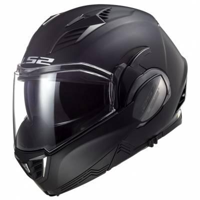 LS2 Helmets Klapphelm Valiant II Solid FF900, schwarz matt