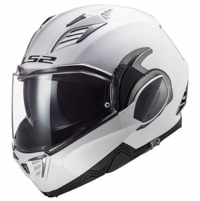 LS2 Helmets Klapphelm Valiant II Solid FF900, weiß