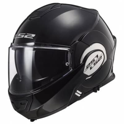 LS2 Helmets Klapphelm Valiant Solid FF399, schwarz
