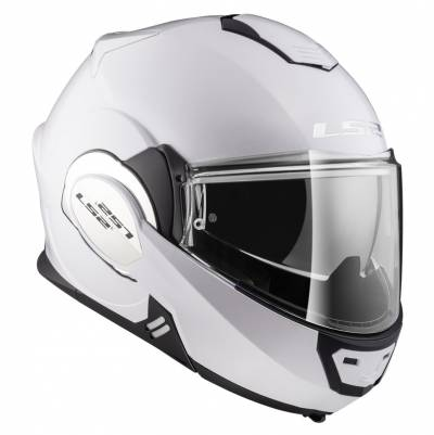 LS2 Helmets Klapphelm Valiant Solid FF399, weiß