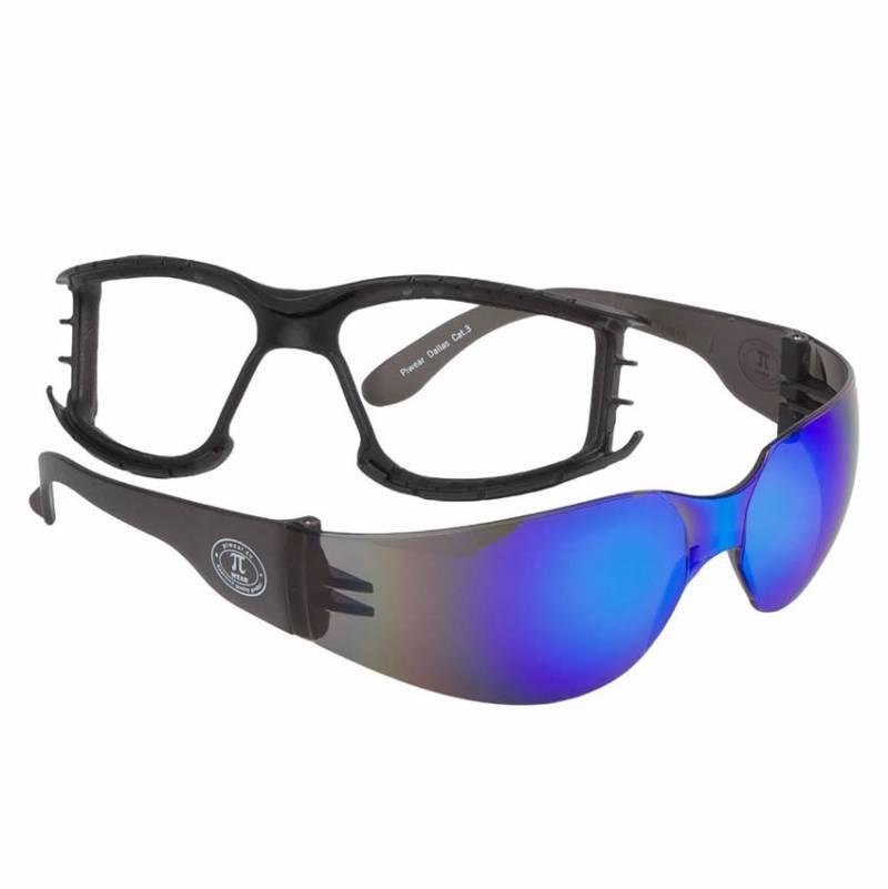 Modeka Brille Dallas Plus, blau verspiegelt