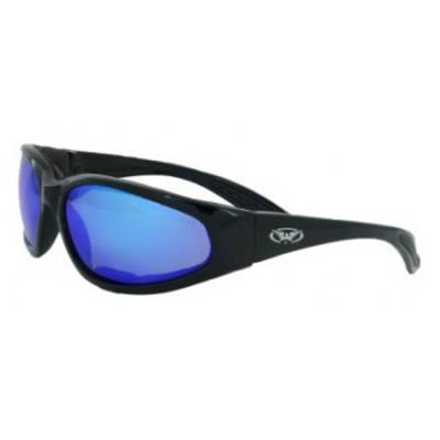Modeka Brille Hercules Plus GT, blau verspiegelt