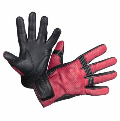 Modeka Damen Handschuhe Hot Two Lady, rot-schwarz