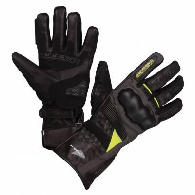 Modeka Damen Handschuhe Panamericana, schwarz-fluogelb