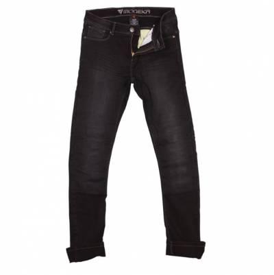 Modeka Damen Jeans Abana Lady, schwarz