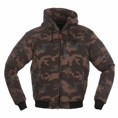 Modeka Damen Textiljacke/Hoodie Hootch, camouflage
