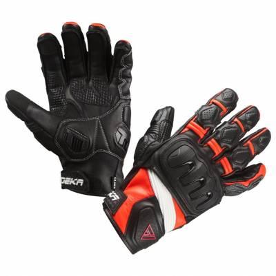 Modeka Handschuhe Baali, schwarz-orange