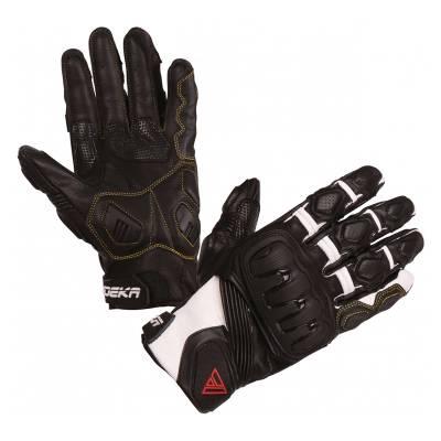 Modeka Handschuhe Baali, schwarz-weiß