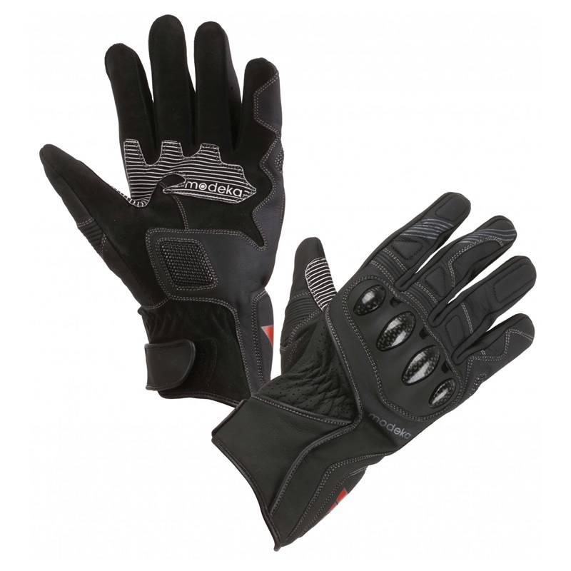 Modeka Handschuhe Challenge Short, schwarz