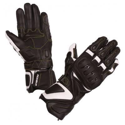Modeka Handschuhe Daren, schwarz-weiß