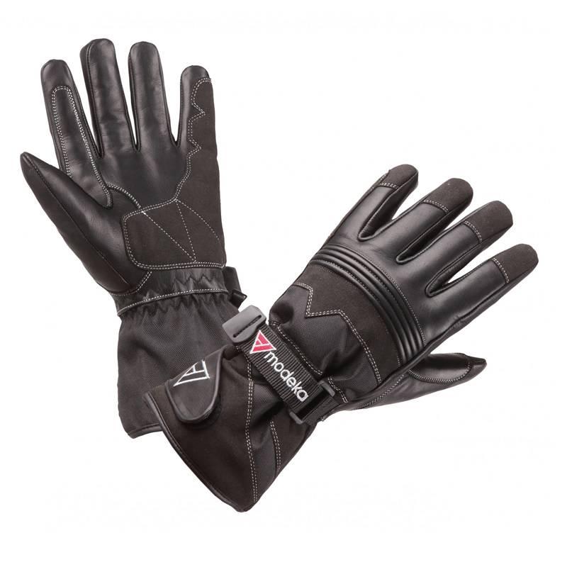 Modeka Handschuhe Freeze Evo Kids, schwarz