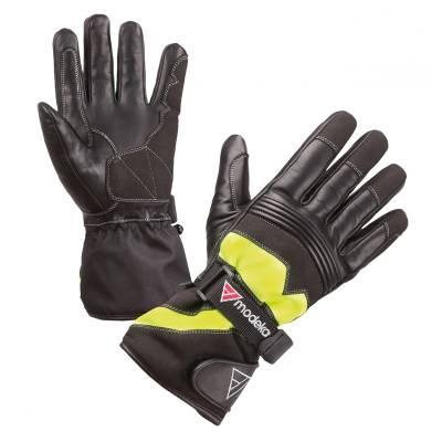 Modeka Handschuhe Freeze Evo, schwarz-gelb
