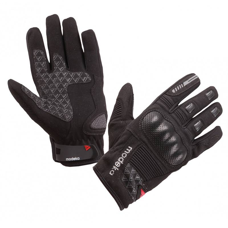 Modeka Handschuhe Fuego, schwarz