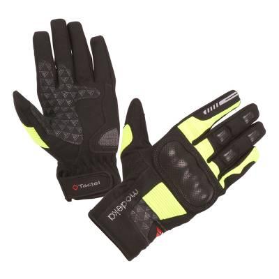 Modeka Handschuhe Fuego, schwarz-gelb