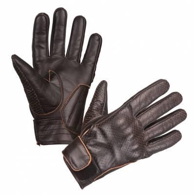 Modeka Handschuhe Hot Classic, dunkelbraun