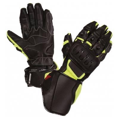 Modeka Handschuhe Jayce, schwarz-fluogelb