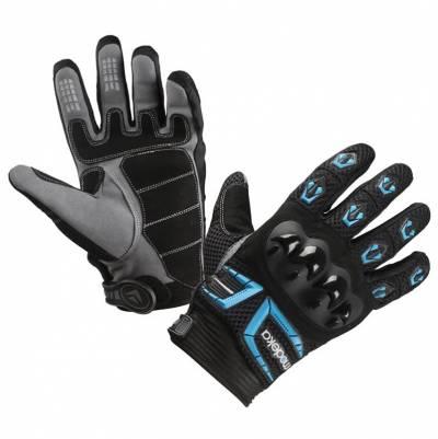 Modeka Handschuhe MX Top, schwarz-blau