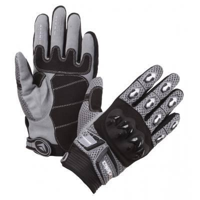Modeka Handschuhe MX Top, schwarz-grau