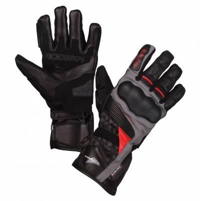 Modeka Handschuhe Panamericana, schwarz-rot
