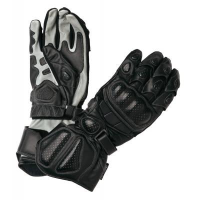 Modeka Handschuhe Racing Pro, schwarz-grau