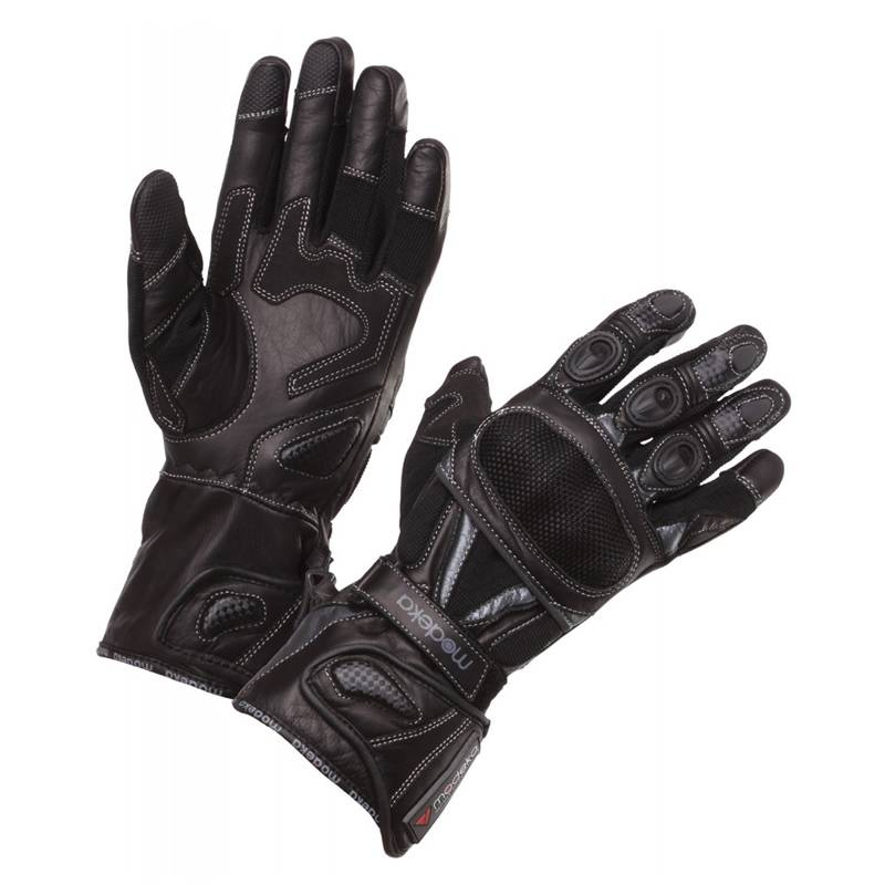 Modeka Handschuhe Sahara Traveller, schwarz