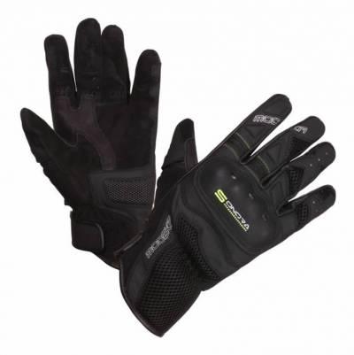 Modeka Handschuhe Sonora, schwarz-fluogelb