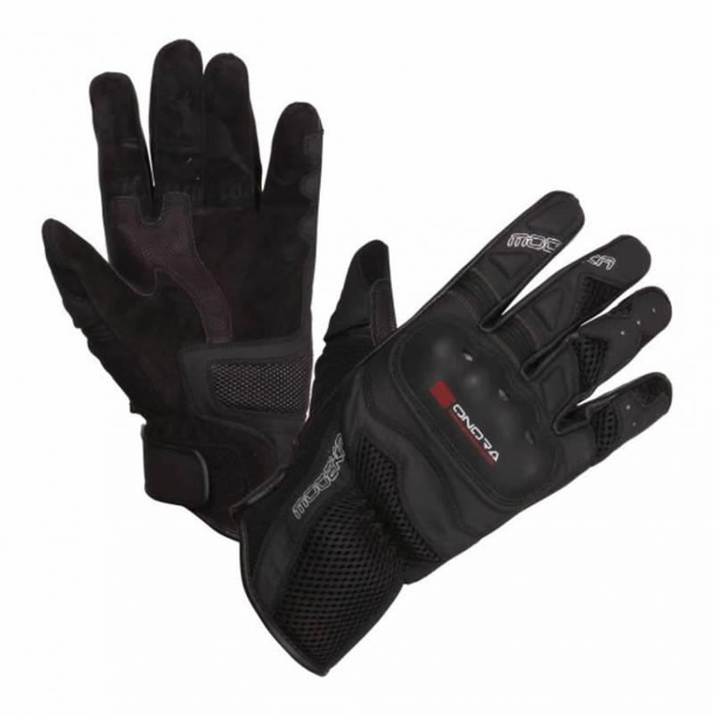 Modeka Handschuhe Sonora, schwarz-rot