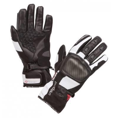 Modeka Handschuhe Tacoma Damen, schwarz-hellgrau
